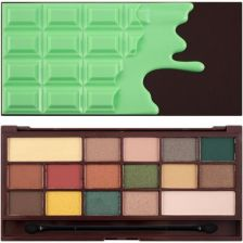 Makeup Revolution I Heart Chocolate Mint Chocolate cienie do powiek 22g