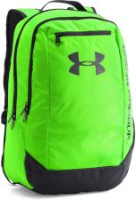 283f3166c22fb Under Armour Hustle Backpack Ldwr Hyper Green Stealth Gray Stealth Gray Osfa