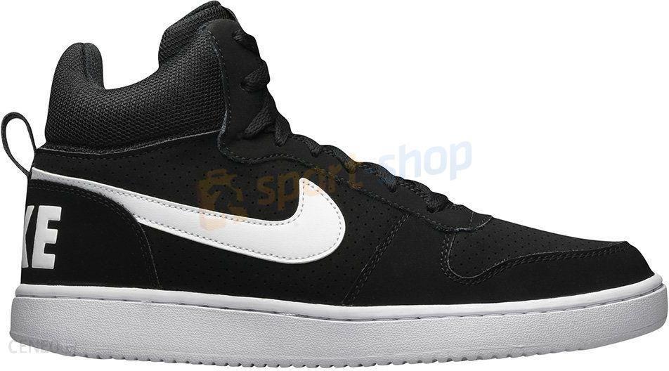finest selection a9dc8 09d40 Buty Court Borough Mid Nike (czarno-białe) - zdjęcie 1