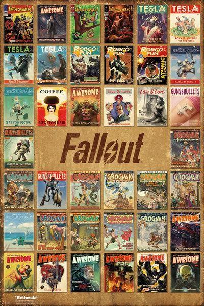 Gb Eye Plakat Fallout 4 Magazine Compilation