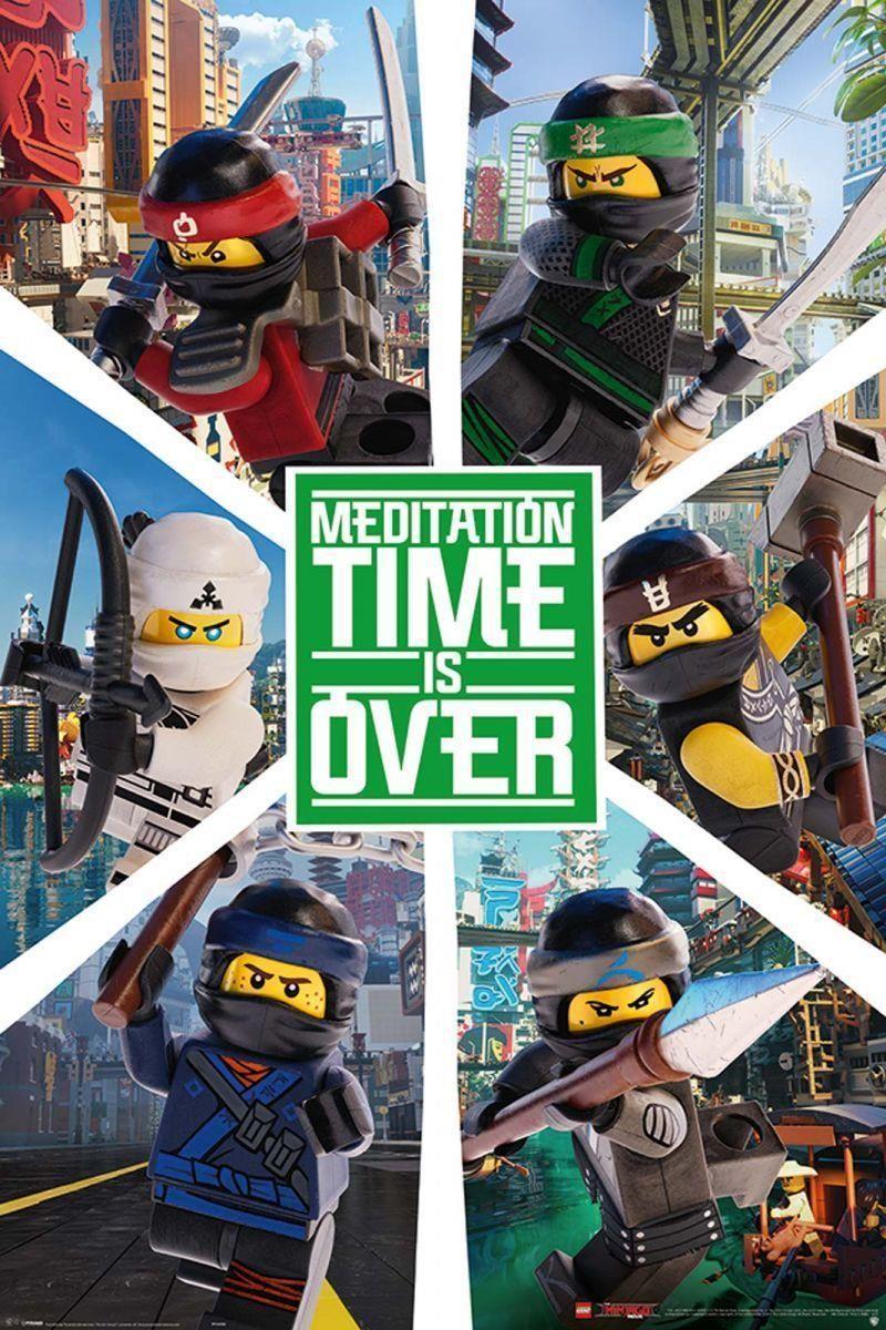 Pyramid Posters Lego Ninjago Movie Six Ninjas Plakat Z Bajki Ceny