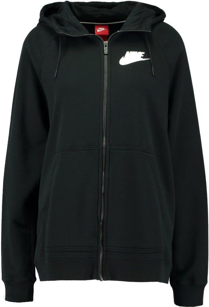 Nike Sportswear RALLY HOODIE Bluza rozpinana black Zalando