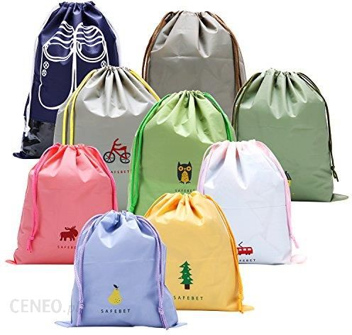 7309aeefee8a1 Amazon 9 Pack sznurkiem worek plecak worek worek sportowy worek do Drawstring  Bags Gym torba do