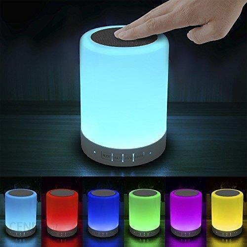 Amazon Lampka Nocna Zmiana Koloru Oraz Z Funkcją Głośnik