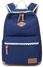 34c711efe281f Amazon 5 All Fashion dziewcząt plecak szkolny plecak damski Canvas  nastolatków materiał bawełniany plecak do szkoły