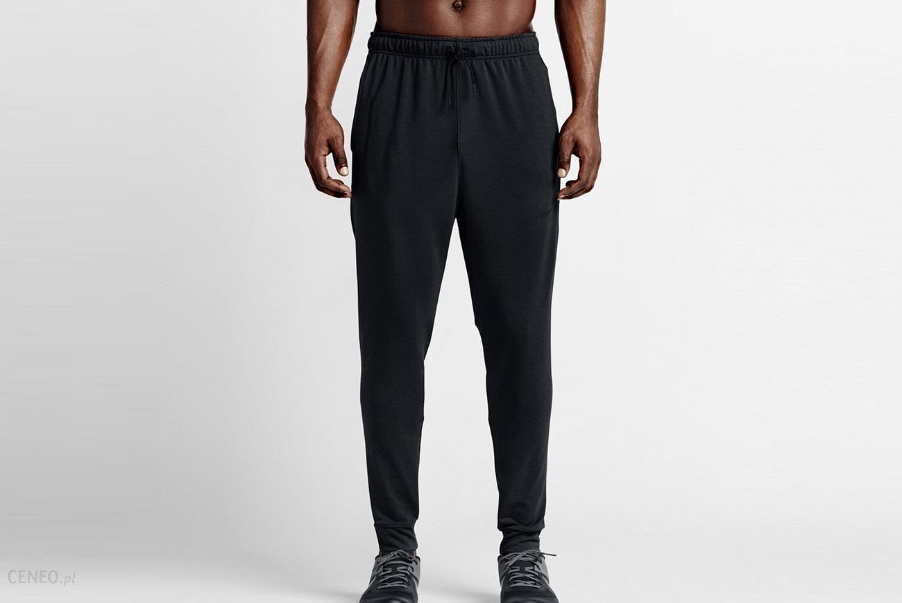 Spodnie dresowe Nike Dri Fit Training Fleece Czarny