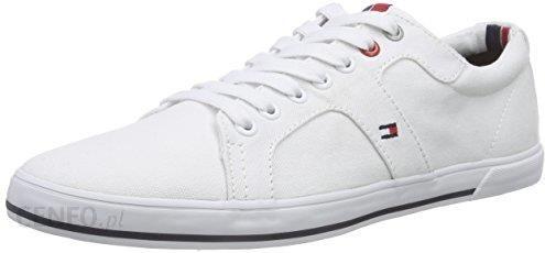 b0fcd35d153c8 Amazon Buty sportowe Tommy Hilfiger dla mężczyzn, kolor: biały, rozmiar: 45  -