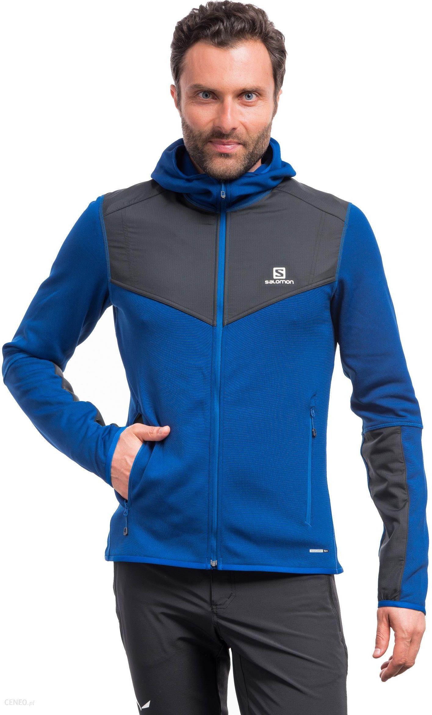 Bluza męska X Alp Mid Hoodie Salomon (czarna) sklep online