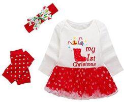 08bff21d7d Amazon Zestaw dziewcząt Boże Narodzenie odzieży dla niemowląt