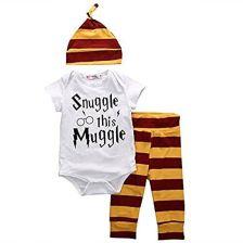 8df30a3383 Amazon Zestaw ubrań dla niemowląt snuggle This muggle Baby dziewczynka  Jungle T-Shirt z krótkim