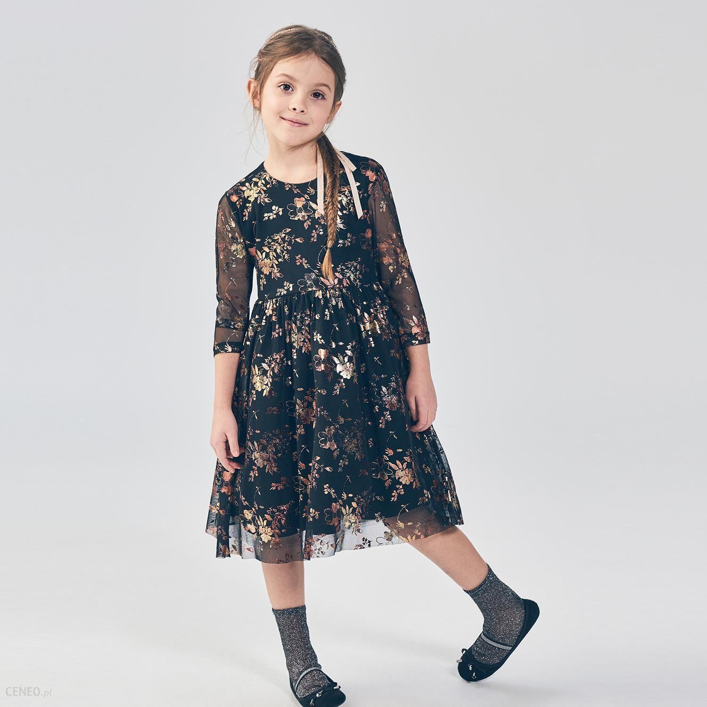 8406279cb0 Mohito - Tiulowa sukienka little princess - Czarny - Ceny i opinie ...