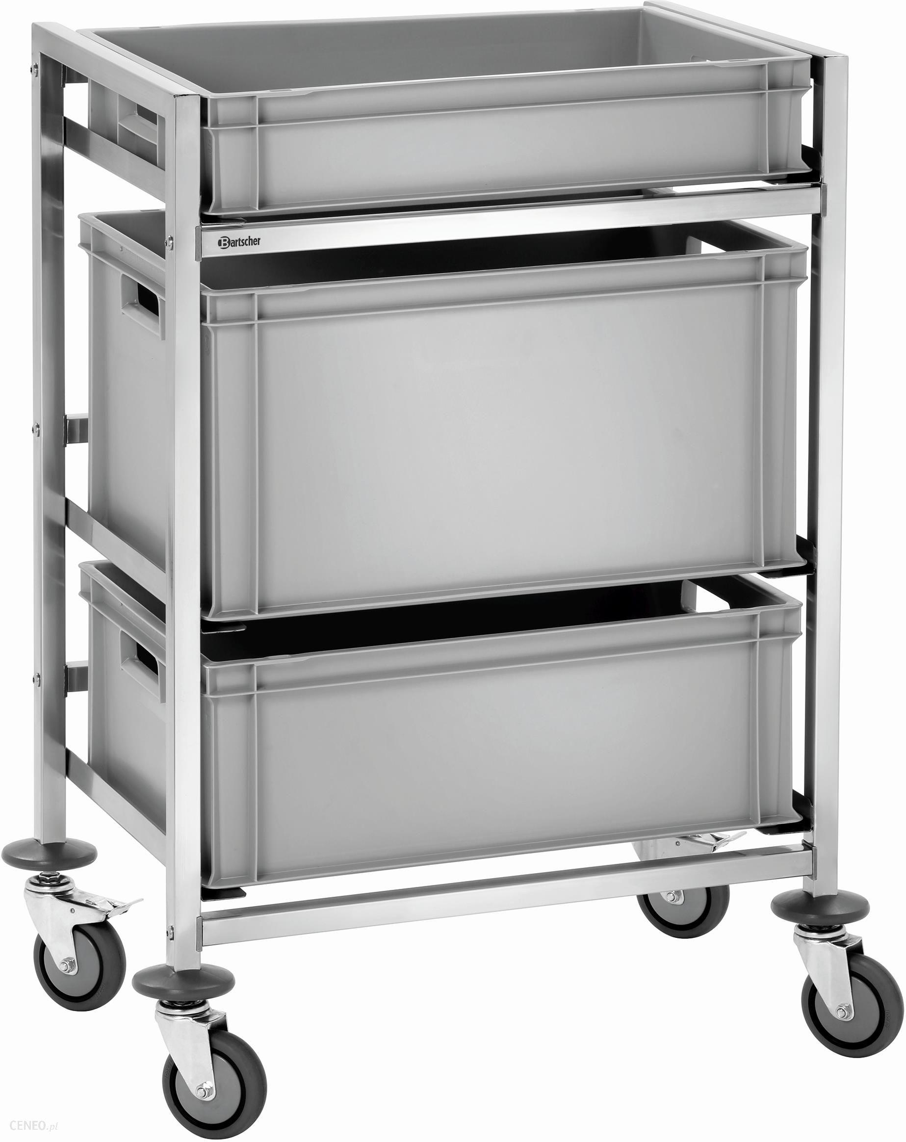 Świeże Wózek transportowy Wózek do transportowania tac i skrzynek KH09