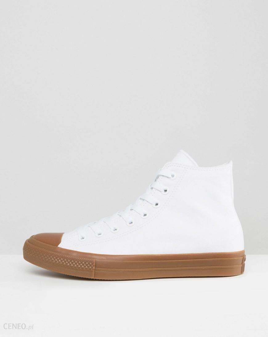 Converse Chuck Taylor All Star II Ox Plimsolls With Gum Sole In White 155502C White Ceneo.pl