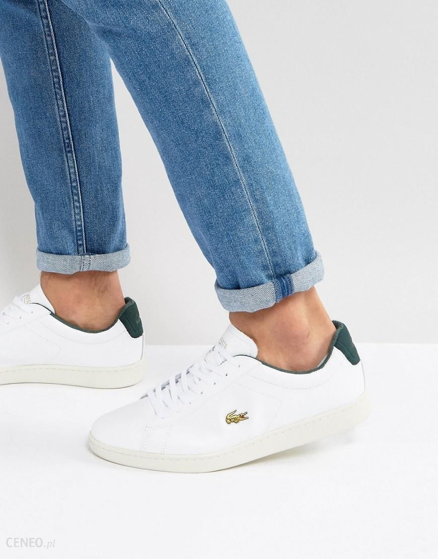 Lacoste Carnaby Evo 317 Golden Croc Trainers White Ceneo.pl