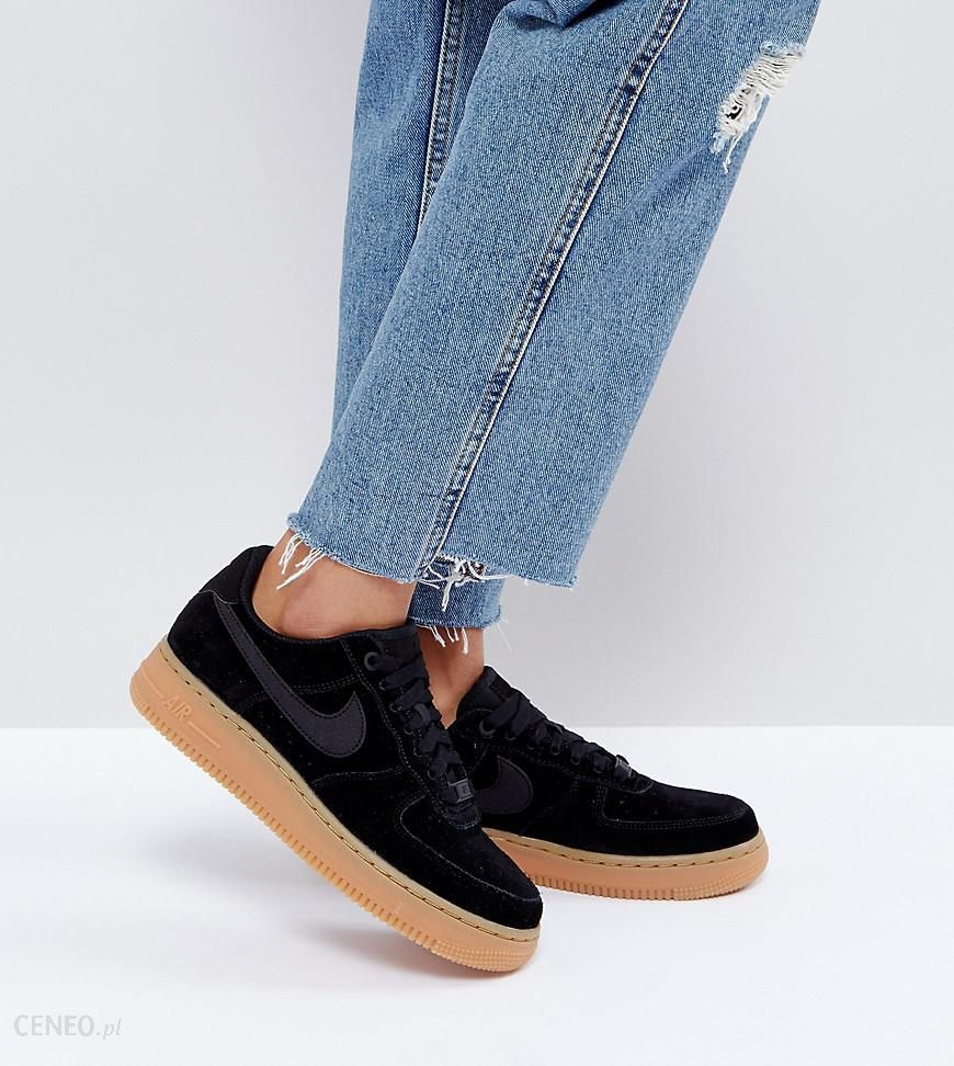 Air Sole Suede With 1 Force Black Nike In Gum Trainers Ceneo pl '07 qMzUVSpG