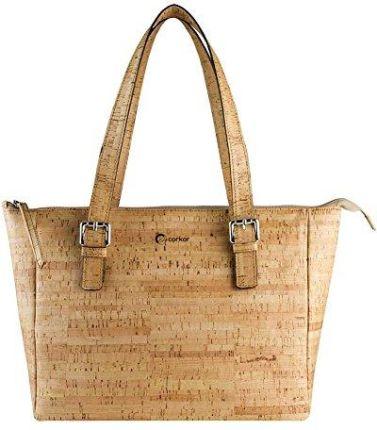 237aacf683ead Amazon corkor korka skórzana torebka damska torebka na ramię ręcznie torba  torba na ramię naturalny pieniędzy
