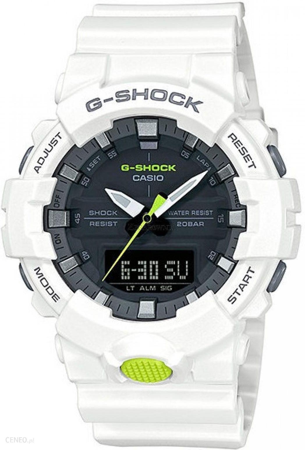 84b40ccf3eed Casio G-Shock GA-800SC-7A - Zegarki Męskie - Ceny i opinie - Ceneo.pl