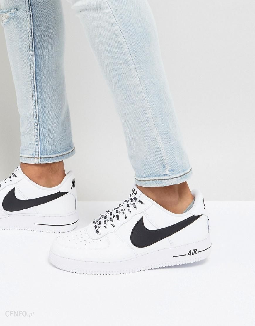 Nike Air Force 1 '07 LV8 Trainers In White 823511 103 White Ceneo.pl