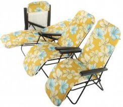 Patio 460590 Fotel Ogrodowy Campingowy 7 Pozycyjny Ceny I Opinie Ceneopl
