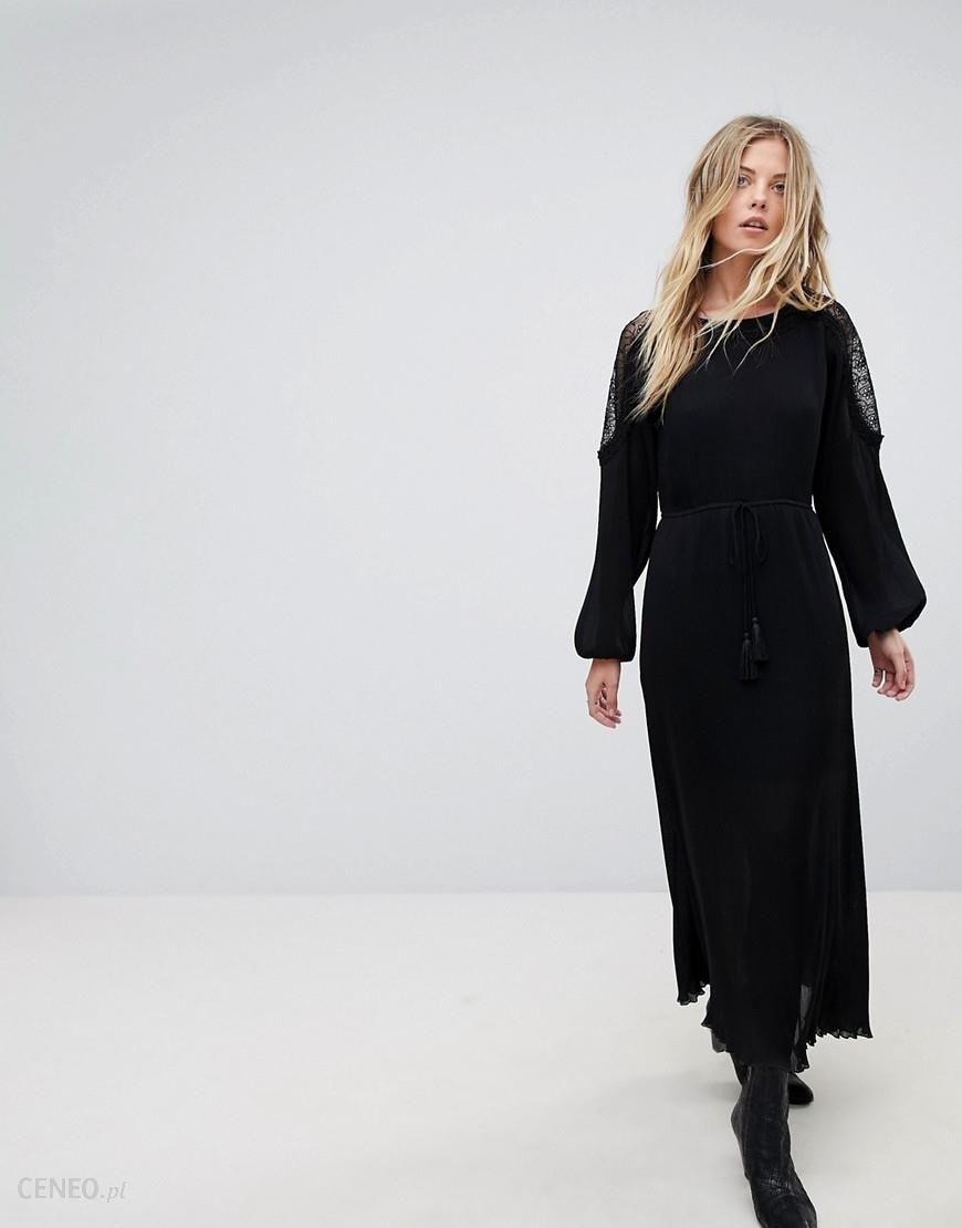 6546feb0f55 Moon River Lace Maxi Dress - Black - zdjęcie 1