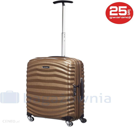 6a58d85a7840b Mała kabinowa walizka SAMSONITE LITE-SHOCK 62764 Brązowa - brązowy -  zdjęcie 1