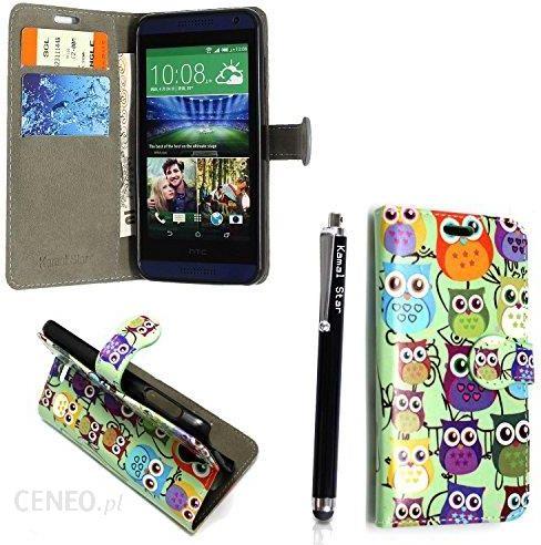 buy popular 946aa 0bd18 Amazon Kamal Star® HTC Desire 820 Flip PU skóra Case Cover rękawa skrzynki  torba osłona na telefon + Stylus