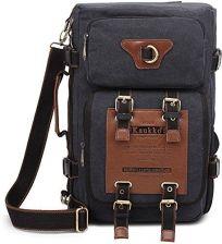 5243c609018d7 Amazon Męski plecak Vintage Military Canvas Plecak Fit to 15.6 inches torba  na laptopa na kemping
