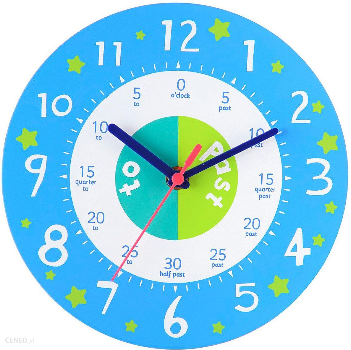 Elc Elc Teaching Clock Blue