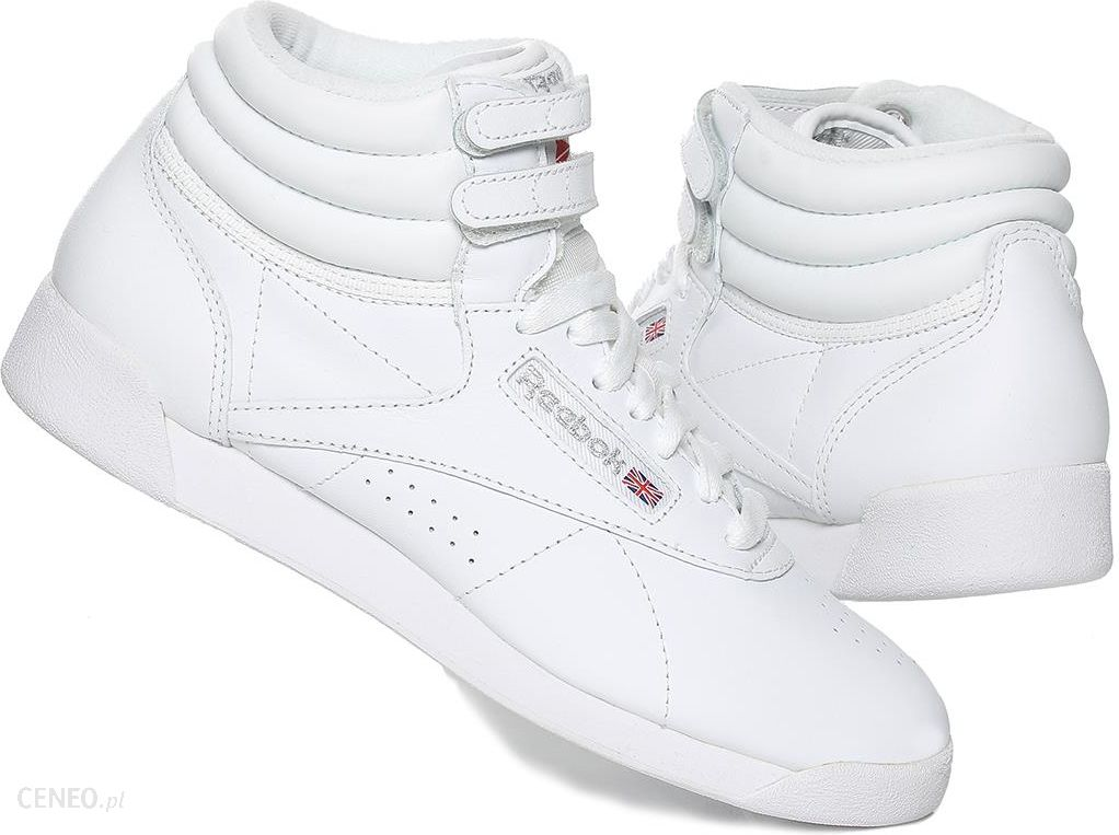04ce55e19f Buty damskie Reebok F s Hi Classic 2431 Białe