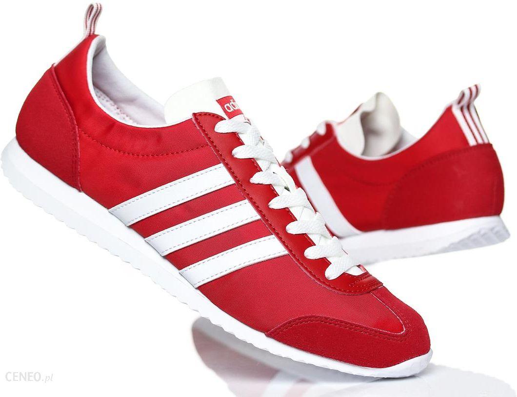 buty adidas jog męskie czerwony