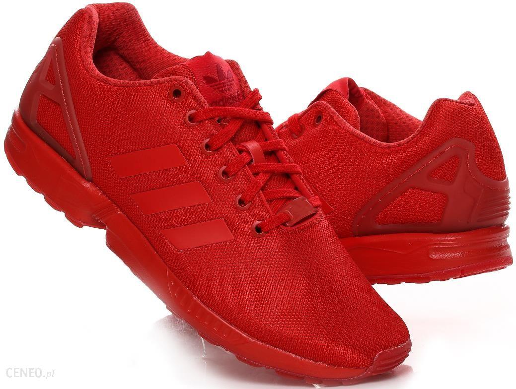 buty adidas zx flux czerwone