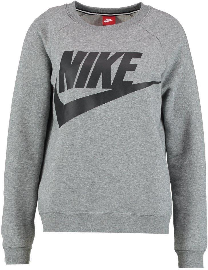 Nike Sportswear RALLY Bluza z kapturem carbon heathercool greyblack