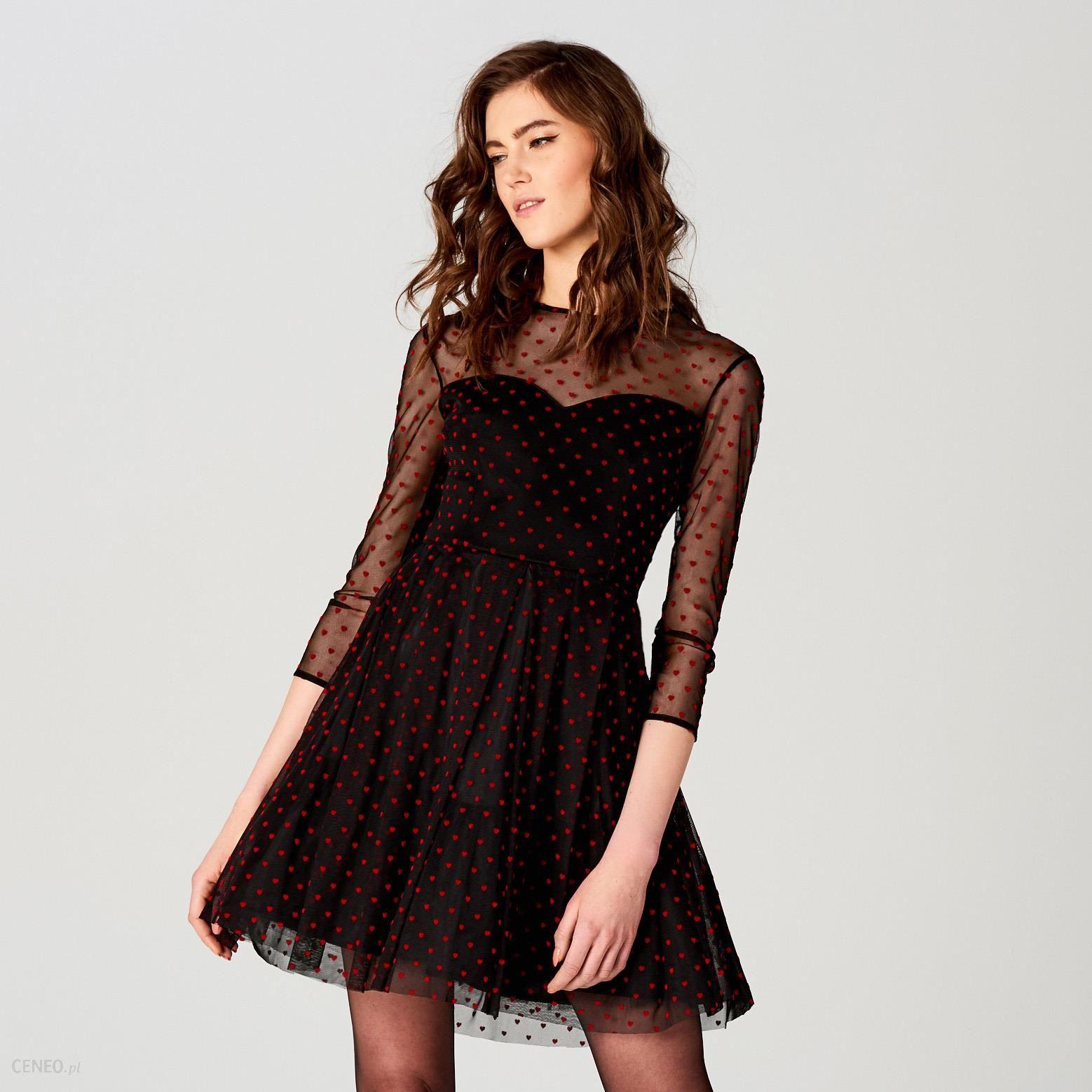 51b3d2d21a Mohito - Tiulowa sukienka z rozkloszowanym dołem little princess - Czarny -  zdjęcie 1