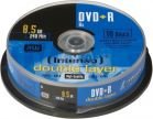 Intenso DVD+R 8.5GB 8x Cake 10szt (4311142)