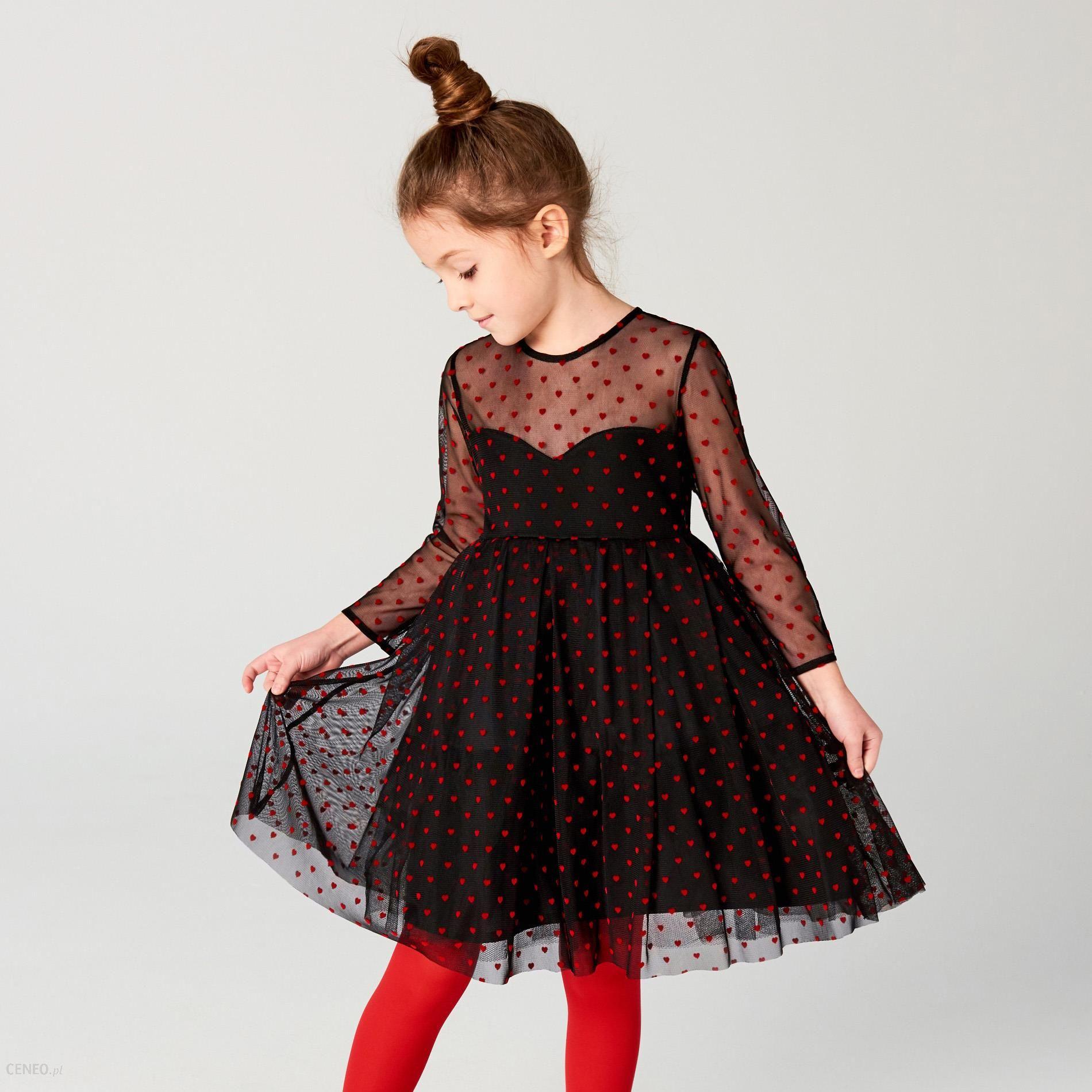 c84c3d1c40 Fantastyczny Mohito - Tiulowa sukienka dla dziewczynki little princess -  Czarny  EB-82