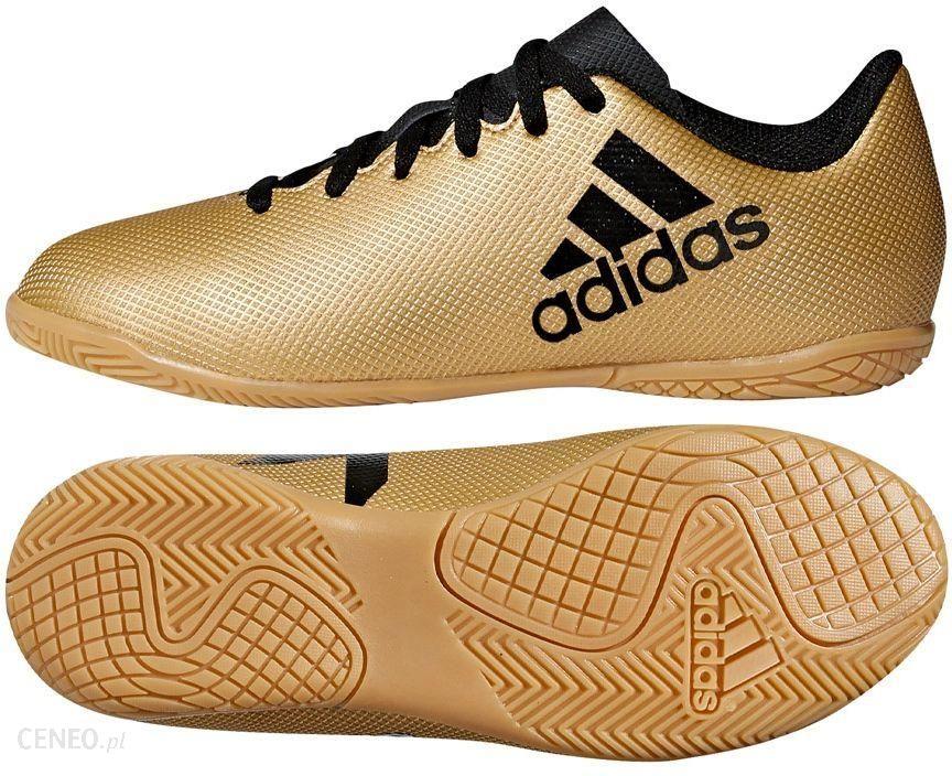 Buty piłkarskie halowe X 16.4 IN Adidas (biało złote)