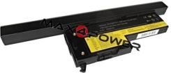 Bateria do laptopa max4power Bateria do laptopa Lenovo ThinkPad X60s 2507 5200mAh / 75Wh (BLOX605214BKV65) - zdjęcie 1
