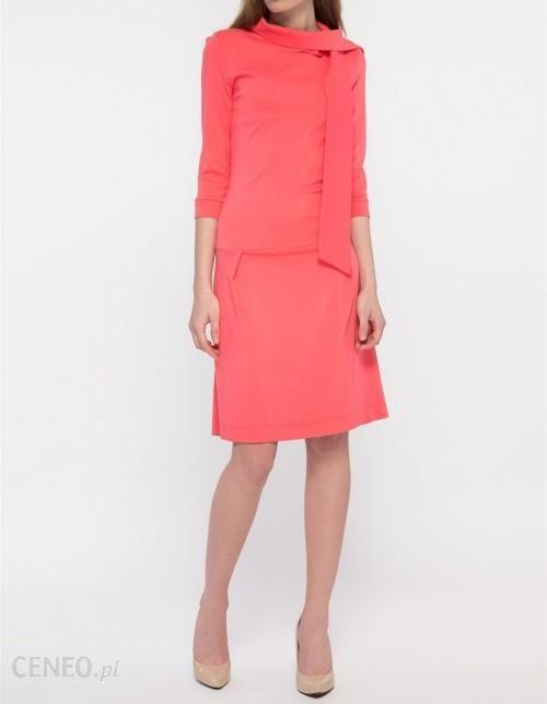 eb9034361e Sukienka koralowa - Ceny i opinie - Ceneo.pl