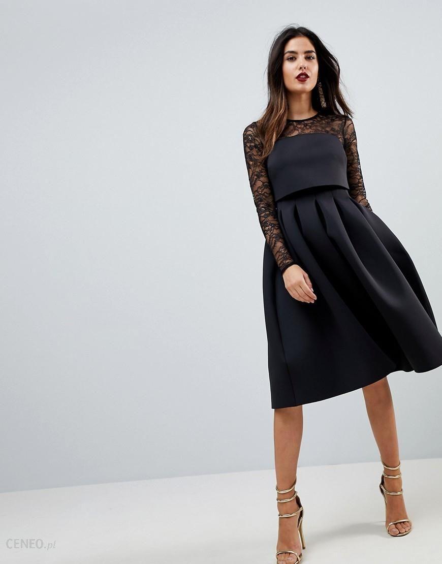 32d29d20d623a Asos Black Lace Top Dress