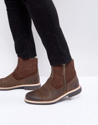 ad46d1e1b7e UGG Dalvin Treadlite Leather Zip Boots - Brown
