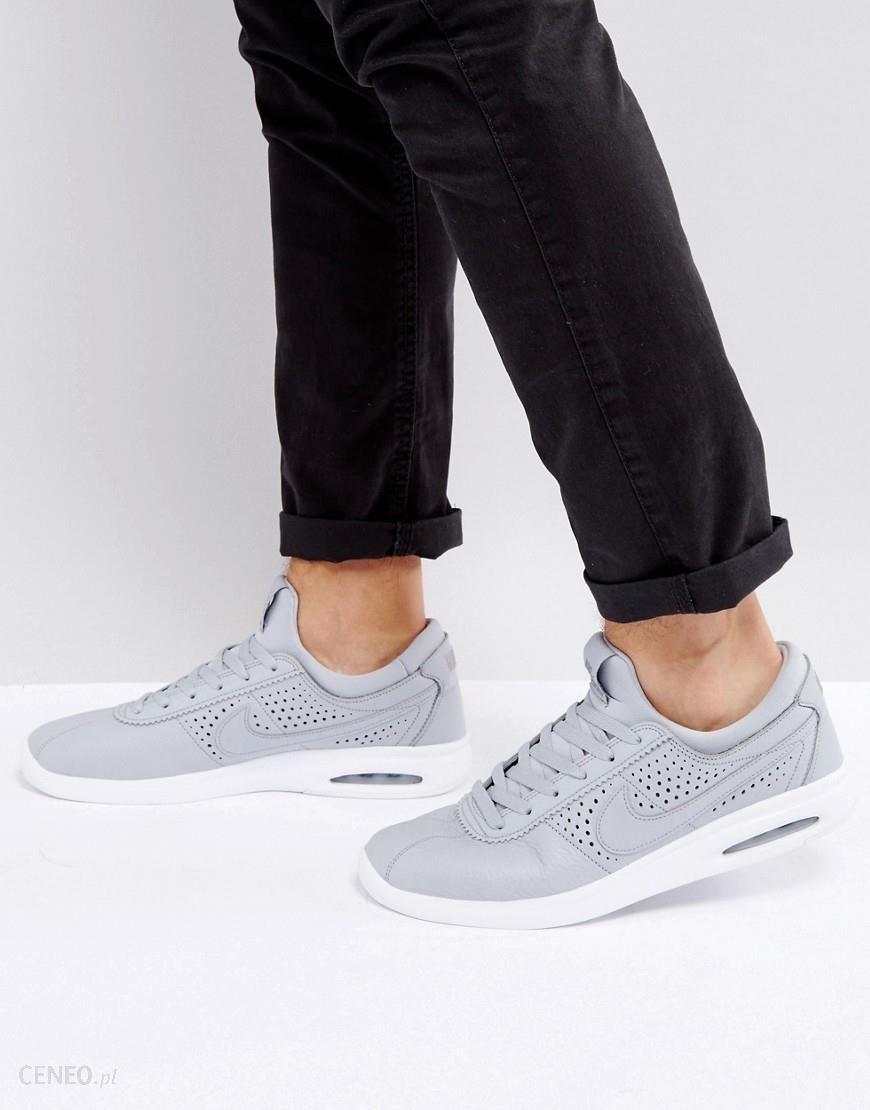 e0122e3e54 Nike SB Stefan Janoski Max Leather Trainers In Grey 685299-012 - Grey -  zdjęcie
