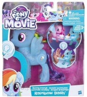Hasbro My Little Pony Swiecacy Kucyk Rainbow Dash C0720 Ceny I Opinie Ceneo Pl