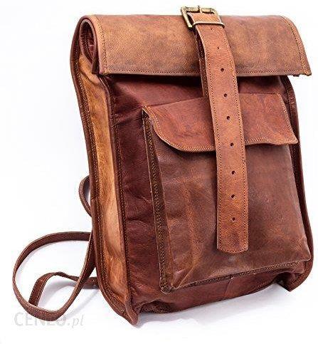 70d66479b5b55 Amazon Prawdziwa skóra Roll-W stylu retro plecak