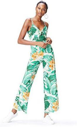 db3dcb88e47066 Amazon FIND Damen Jumpsuit mit Tropenprint Mehrfarbig (Multicoloured), 36  (Herstellergröße: Small