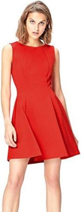 Amazon comma kleid rot