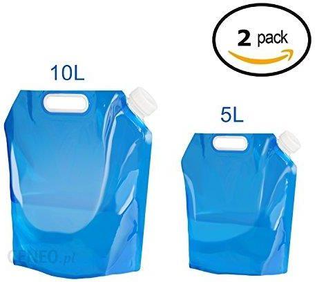 Niesamowite Amazon 2 X kanister na wodę składany, Ariel-GXR Przenośny składany AR13