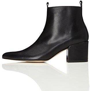 bbdcd4a2a1472 Amazon FIND Damen Ankle Boots mit Blockabsatz, Schwarz (Black), 39 EU