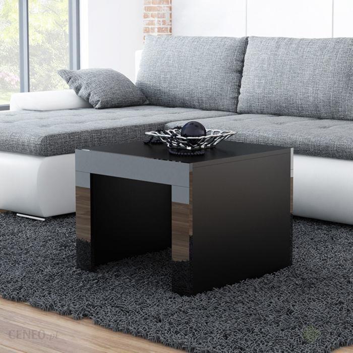 High Glossy Furniture Stolik Kawowy Kwadratowy Tucson Czarny 60x60x50 Cm Opinie I Atrakcyjne Ceny Na Ceneopl