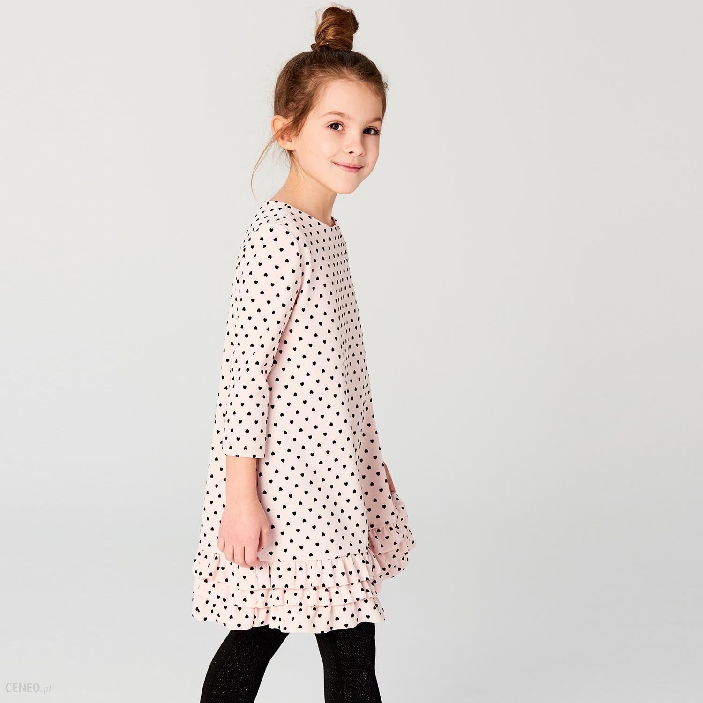 9352b2a587 Mohito - Dziewczęca sukienka w kropki little princess - Różowy - zdjęcie 1