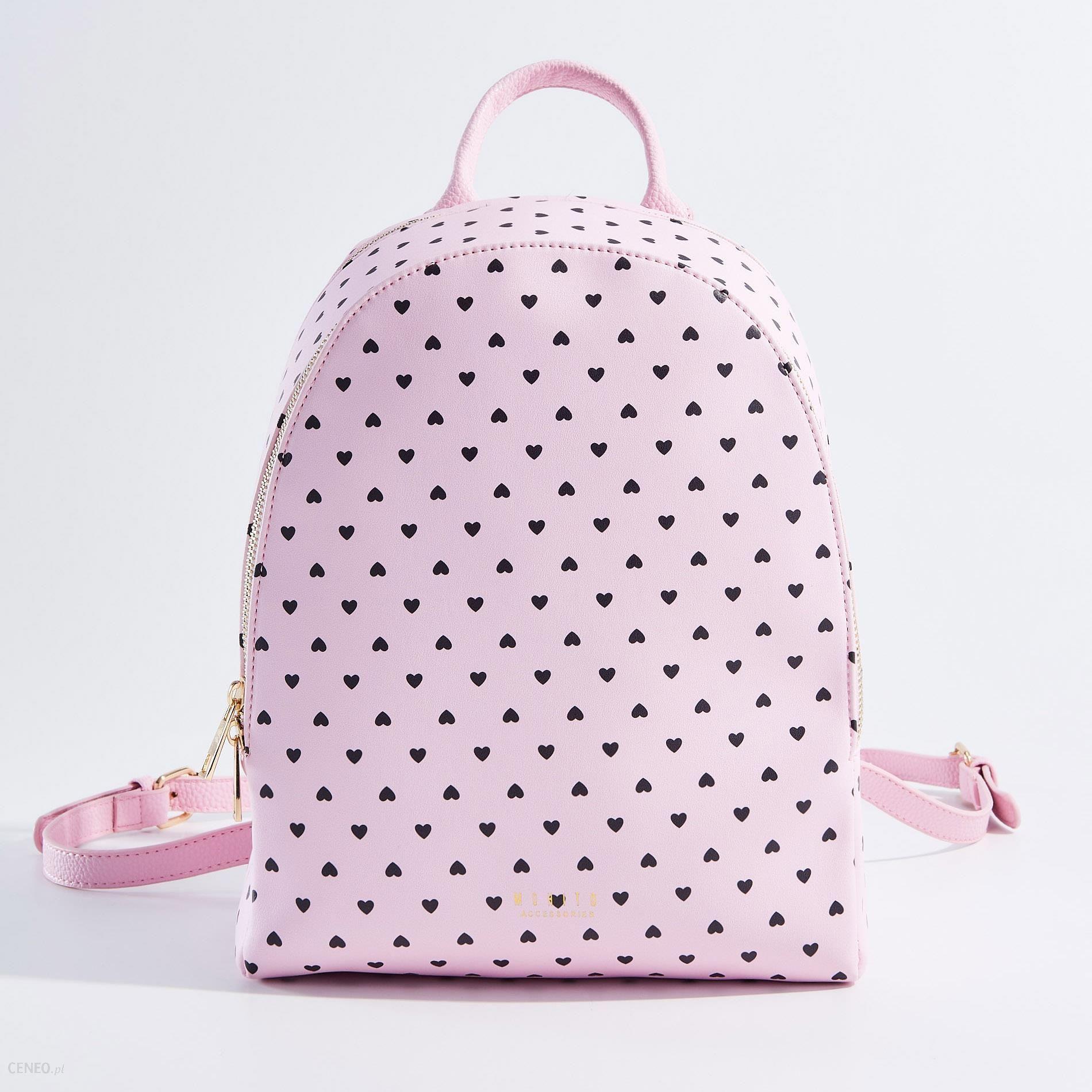 d019c055c068 Mohito - Damski plecak w serca little princess - Różowy - Ceny i ...